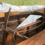 Holzpirat Holzjolle Segelboot mieten und leihen in berlin köpenick Müggelseedamm spree dahme grünau
