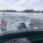 Bootsverleih Berlin Müggelsee Motorboot mieten Oldtimer Klassiker Grünboot spreepoint big Betty Tagesspiegel RBB Radio Richtershorn Boot Riva