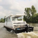 Hausboot mieten, Hausboot Urlaub in Bremervörde, 2 Personen 2 Kinder Nordsee Elbe Oste Stade Brobergen Big Betty