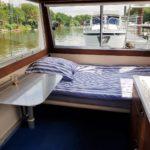 Hausboot mieten, Hausboot Urlaub in Bremervörde, 2 Personen 2 Kinder Nordsee Elbe Oste Stade Innen