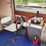 Hausboot mieten, Hausboot Urlaub in Bremervörde, 2 Personen 2 Kinder Nordsee Elbe Oste Stade Innen Steuer